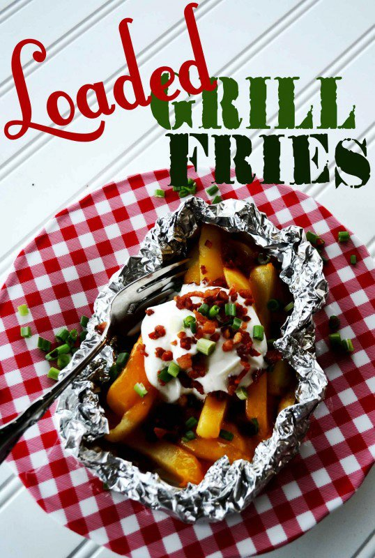 Loaded Grill Fries
