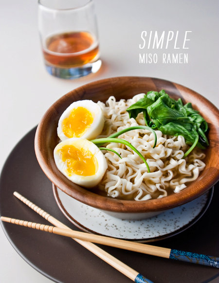 Miso Ramen Noodles  Recipe Type:   Cuisine:  Author:   Prep time: 0 min  Cook time: 0 min  Total time: 0 min  Serves:     Ingredients 1 package instant ramen noodles, flavor packet saved for another use (visit your Asian store for a good, imported brand