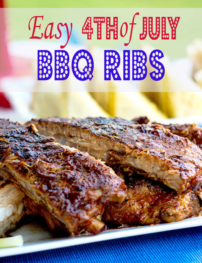 Easy 4th of July BBQ Ribs~Recipe