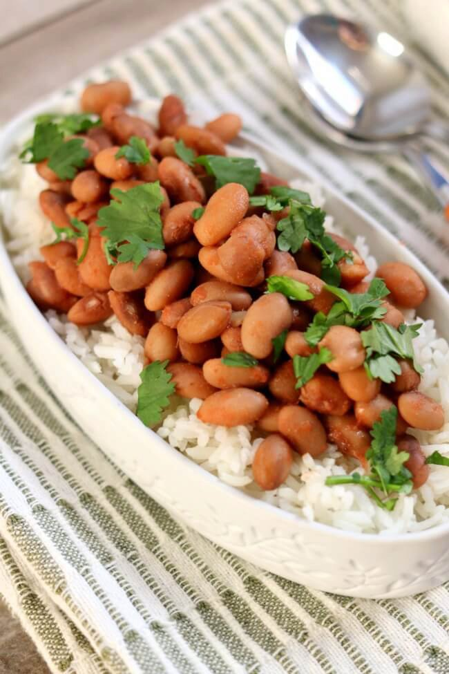 Dave Ramsey Slow Cooker Beans and Rice Recipe