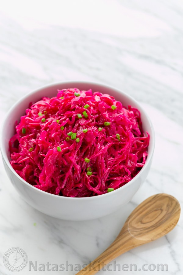 Cabbage and Beet Salad Recipe