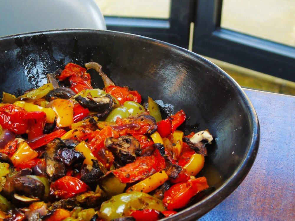 Syn Free Roasted Vegetables