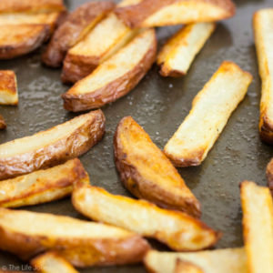 The Easiest Oven Fries EVER!