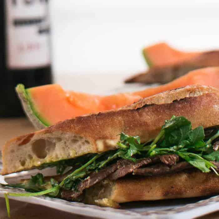 Provencal Beef Tongue Sandwiches