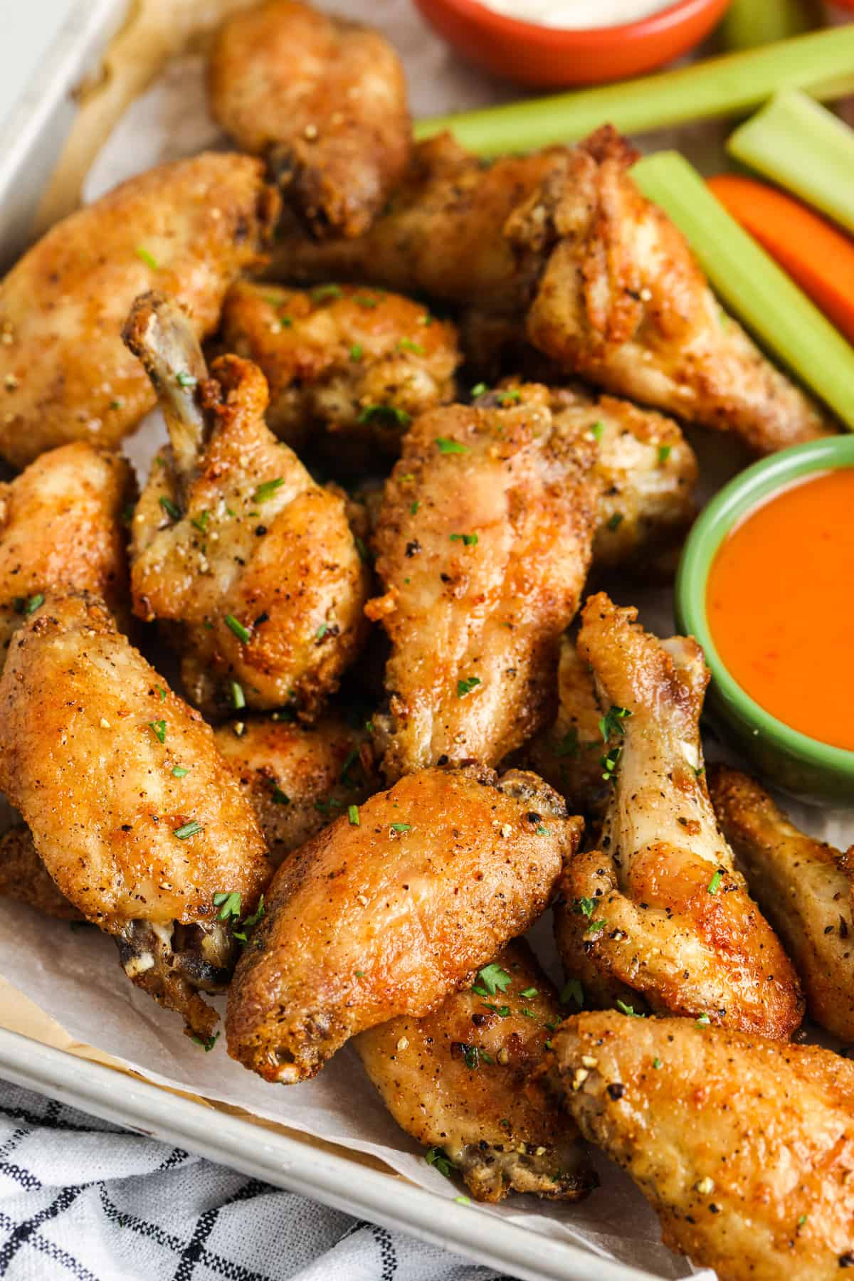 Actually Crispy Oven Baked Wings