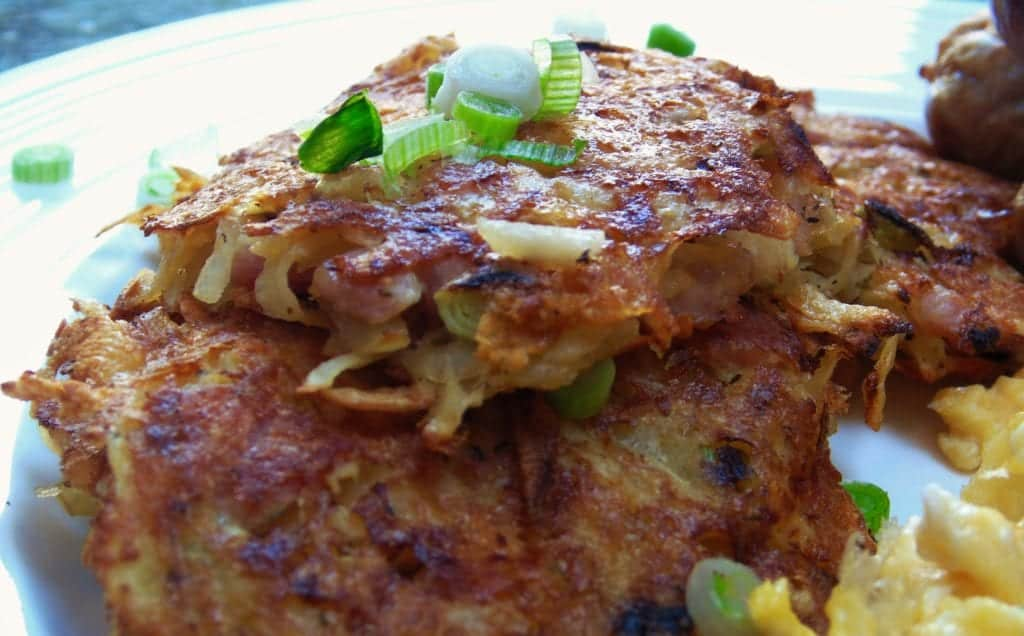 Syn Free Cheese & Bacon Hash Browns